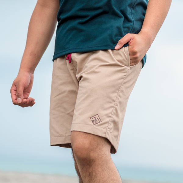 Tailored Shorts (Taupe)