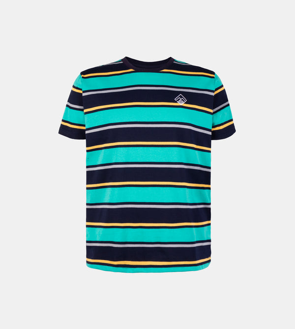 Mega Stripes Shirt (Teal)