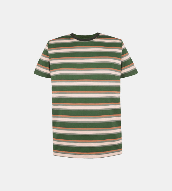 Mega Stripes Shirt (Olive Green)