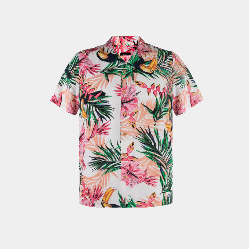 Tropics Cuban Shirt (Firth, White)