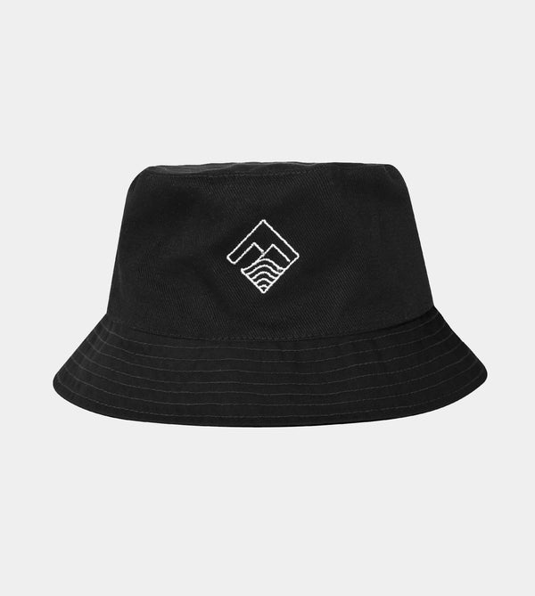 Verge Bucket Hat (Black)
