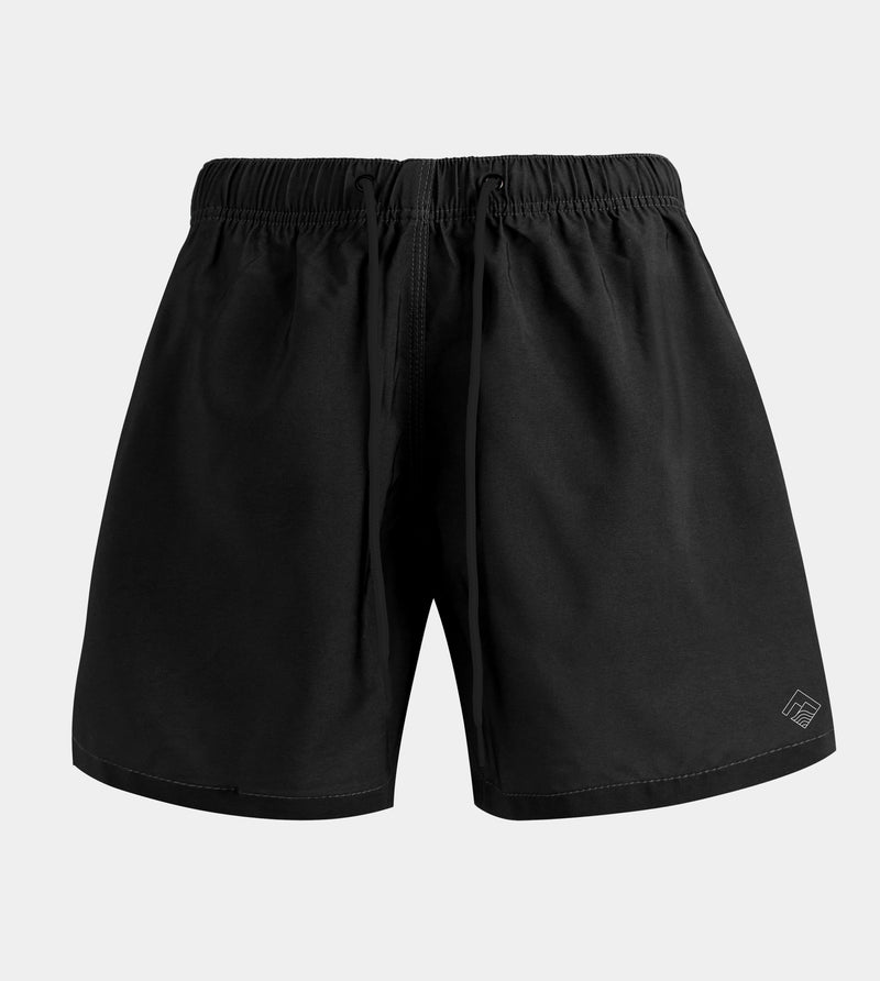 Vacay Swim Shorts (Black)