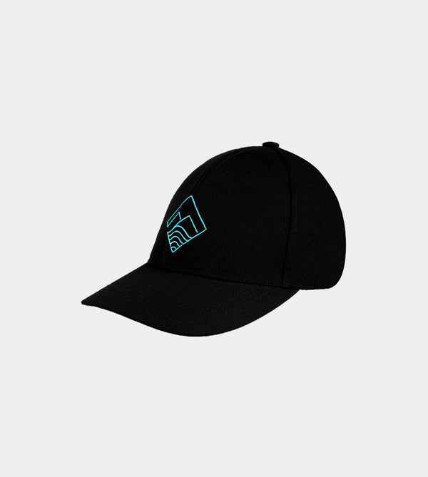 Home Run Baseball Cap (Black)