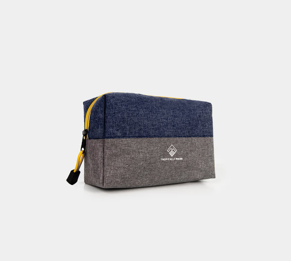 Momentum Two Tone Pouch (Blue, Gray)