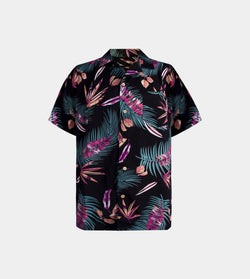 Tropics Cuban Shirt (Nirvana, Black)