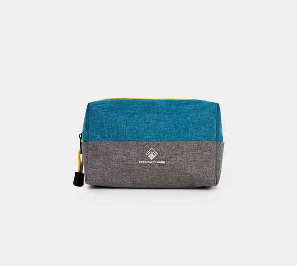 Momentum Two Tone Pouch (Teal, Gray)