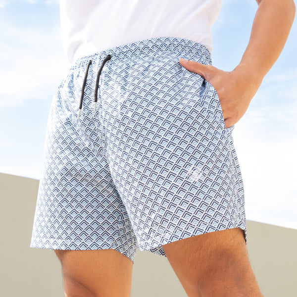 Atlantic Swim Shorts (Blue)