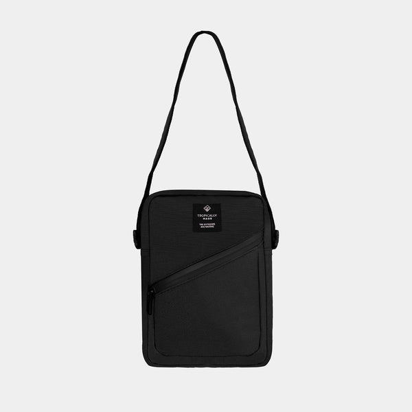 Voyager Crossbody Bag (Black)