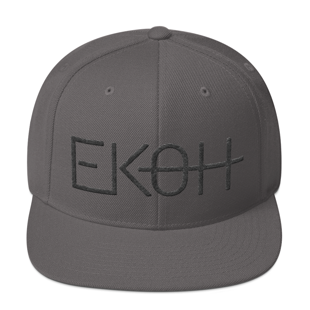 Ekoh Snapback Dark Grey/Black
