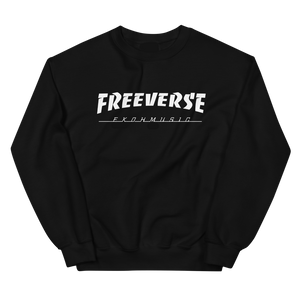 "*PRE-ORDER* Freeverse ""Thrasher"" Sweatshirt (black)"
