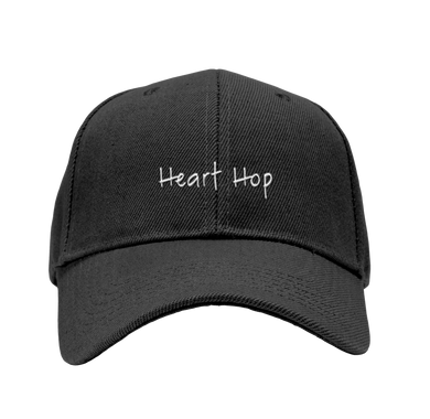 Ekoh Heart Hop Dad Hat- BLACK