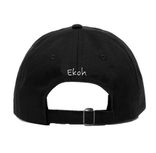 Load image into Gallery viewer, Ekoh Heart Hop Dad Hat- BLACK
