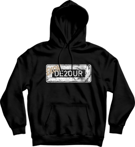 DE2OUR Street Sign Hoodie