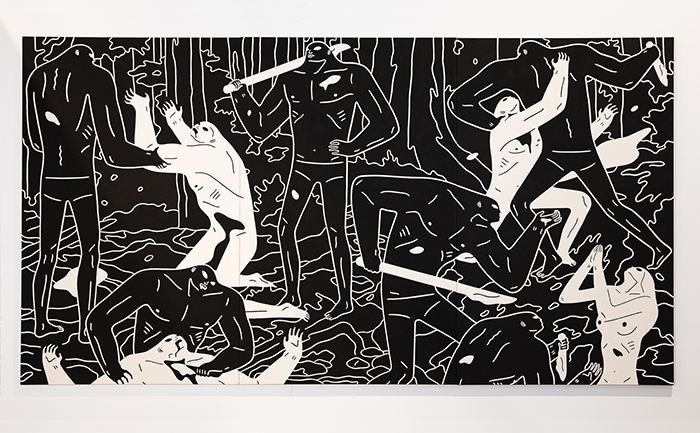 "Cleon Peterson: ""One person's utopia is the other person's hell."""