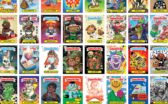 BTS x TOPPS to release limited-edition Garbage pail kids series at virtual ART FAIR December 5 & 6