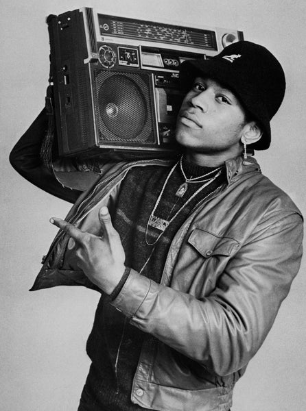 Janette Beckman. LL Cool J NYC. 1985. Courtesy of the photographer.