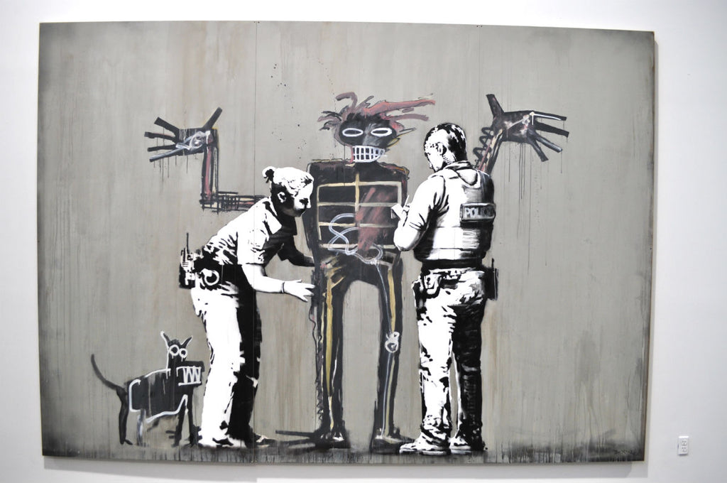 "Banksy in ""Beyond the Streets."" Photo courtesy Colony Little."