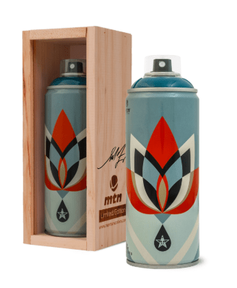 Shepard Fairey Limited Edition Montana Spray Paint - Lotus Blue