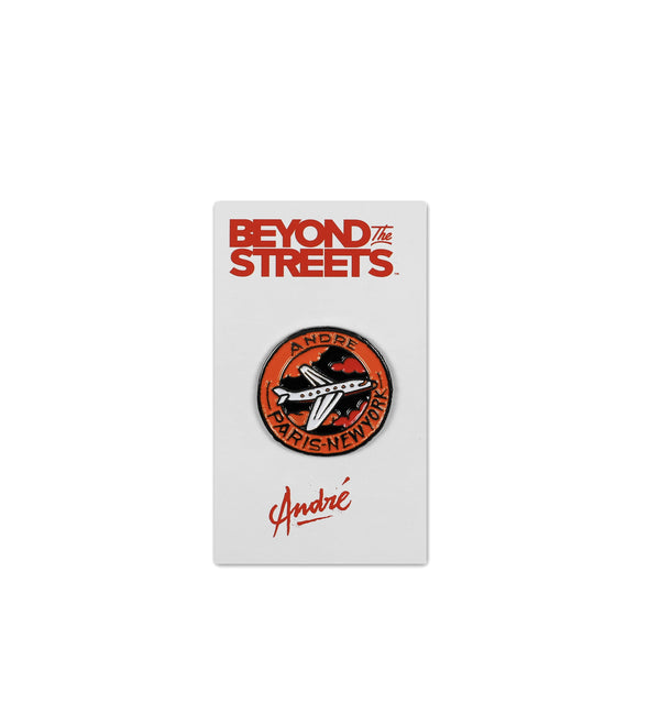 Andre Paris - New York Enamel Pin - Orange