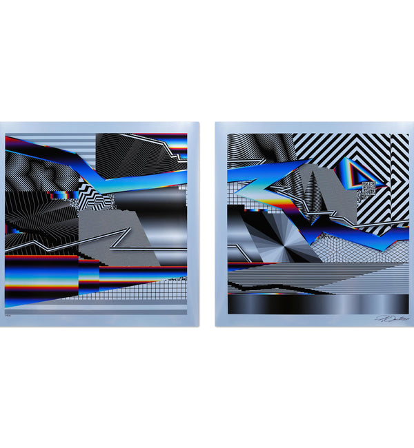 Felipe Pantone - Optichromie 32 - 33  Prints