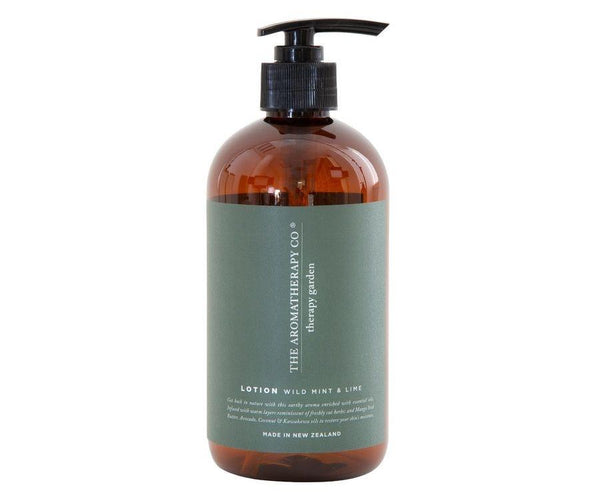 Hand & Body Lotion 500ml - Wild Mint & Lime Hand & Body Lotion