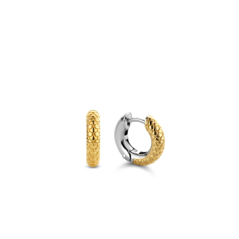 TI SENTO - MILANO EARRINGS GILDED 925S Øredobb