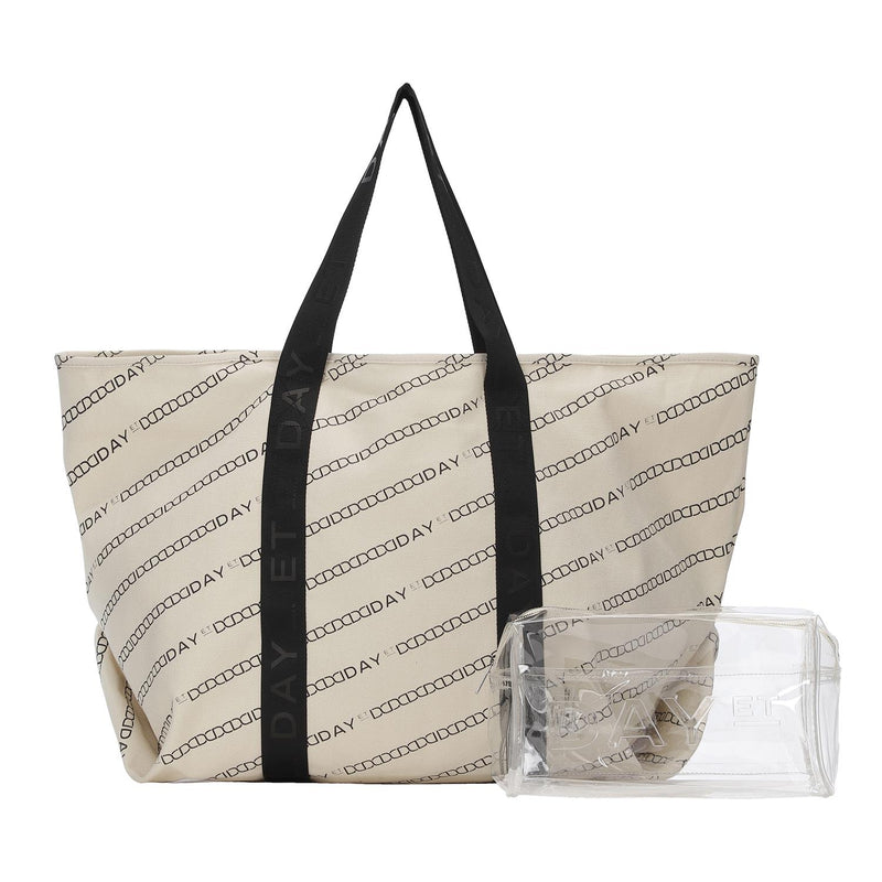 Day Canvas Transparent Shopper Bags