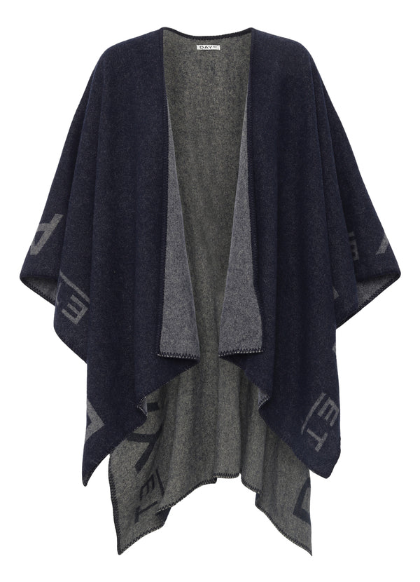 Day ET Logo Poncho Scarves