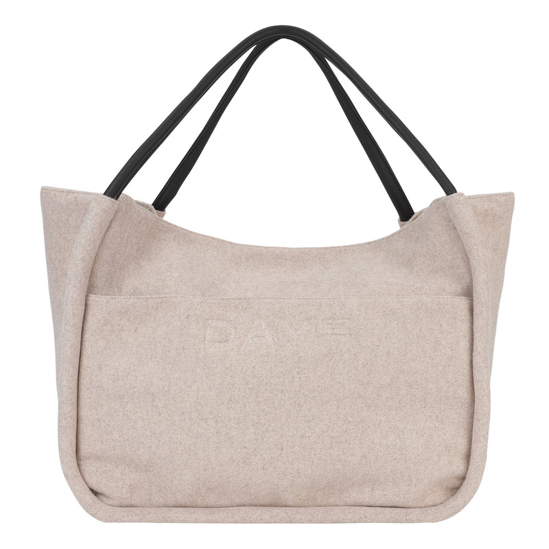Day Woolen Mega Shopper Shoulder Bag