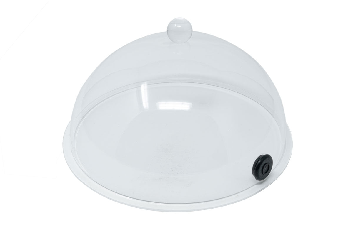 "10"" Plastic Smoking Dome Cloche"