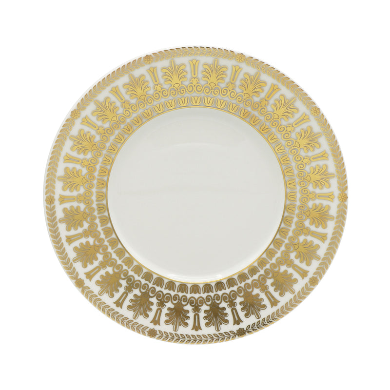 EMPIRE Or - Assiette plate