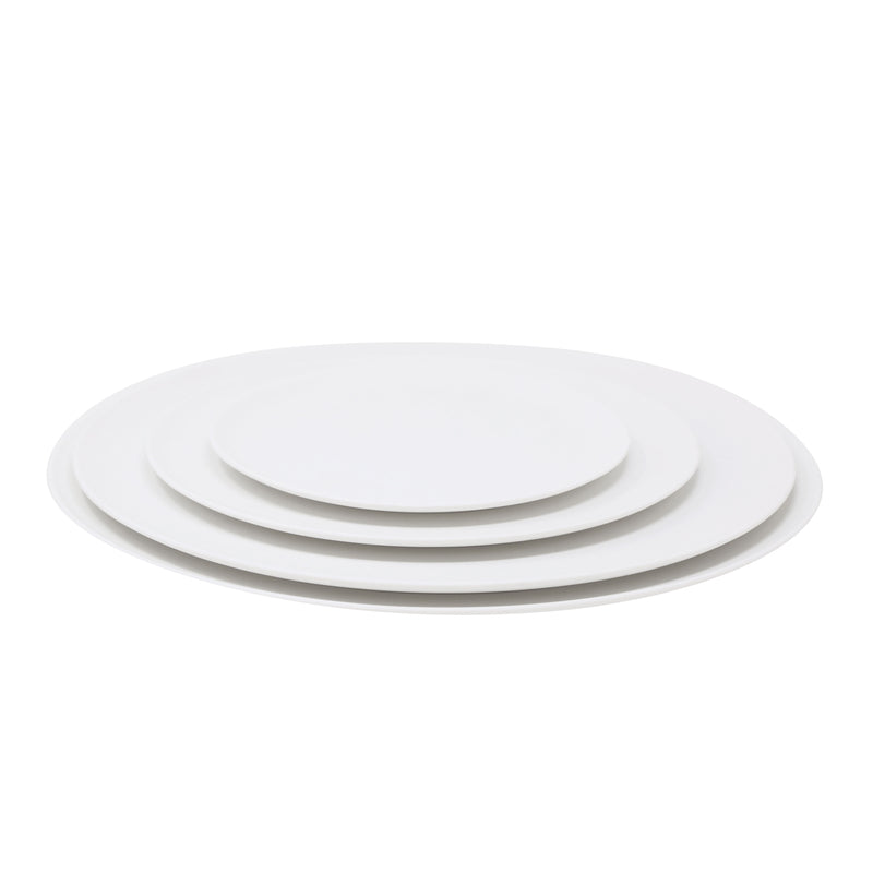 SLIM Assiette 29 cm blanc satiné