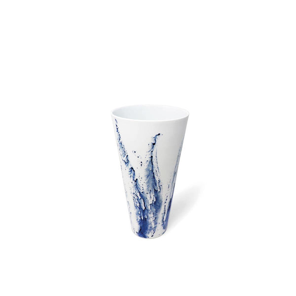 BLUE IMPRESSION - Vase droit PM