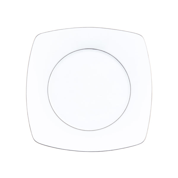 PRÉLUDE Blanc filet marly Platine - Assiette plate