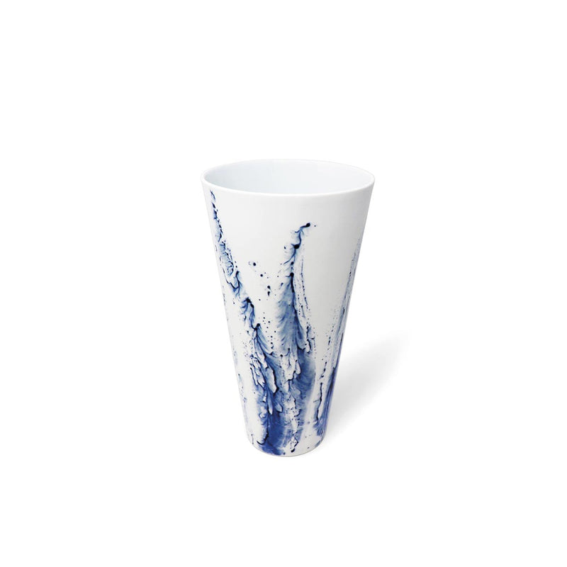BLUE IMPRESSION - Vase droit MM