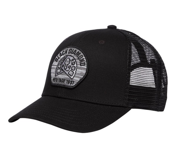 Black Diamond TRUCKER HAT Aluminum Knit - HikerHaus