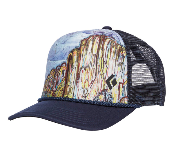 Black Diamond FLAT BILL TRUCKER HAT El Cap - HikerHaus