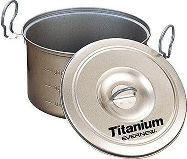 EVERNEW Titanium Non-Stick Pot 2.6L - HikerHaus