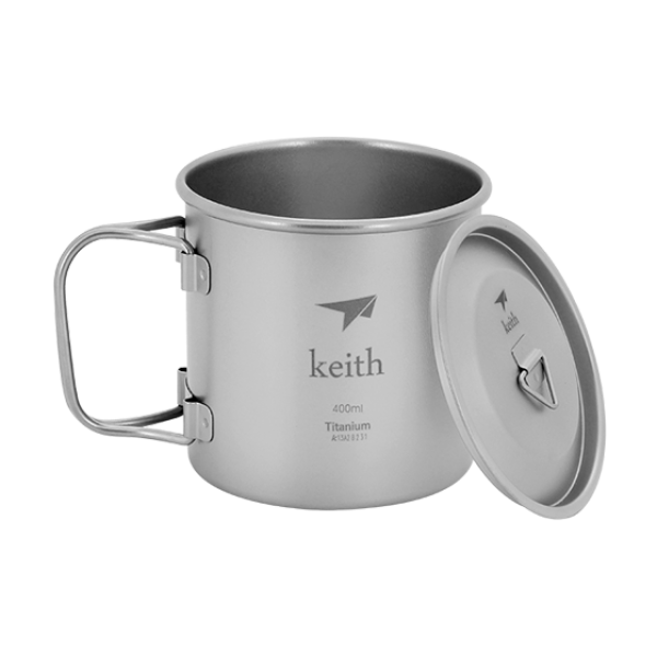 KEITH Titan 400ml Tasse - HikerHaus