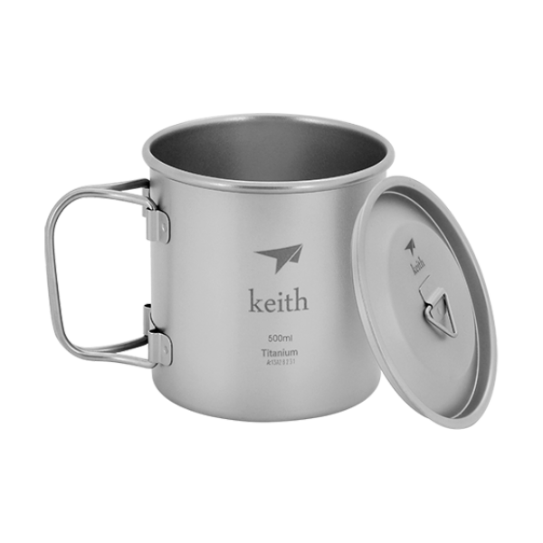 KEITH Titan 500ml Tasse - HikerHaus