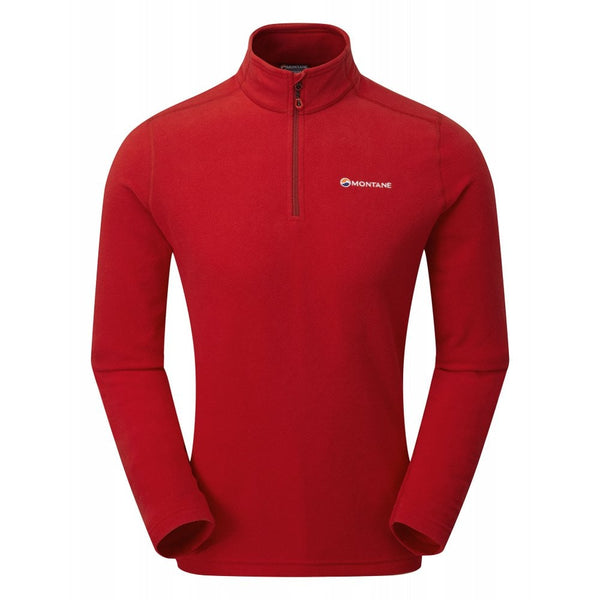Montane Chukchi Pull-On Fleecejacke - SEDONA RED - HikerHaus