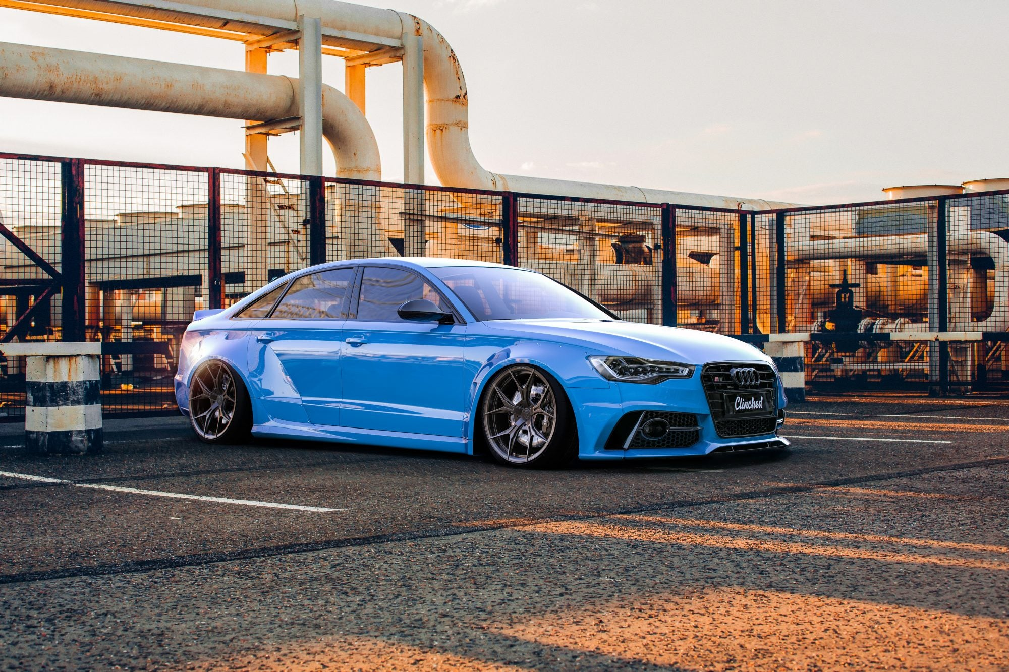 Clinched Flares - Audi A6 (C7) Widebody Kit