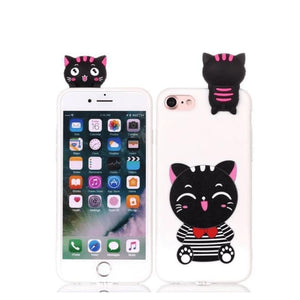 Cat Phone Case - White / Iphone 5