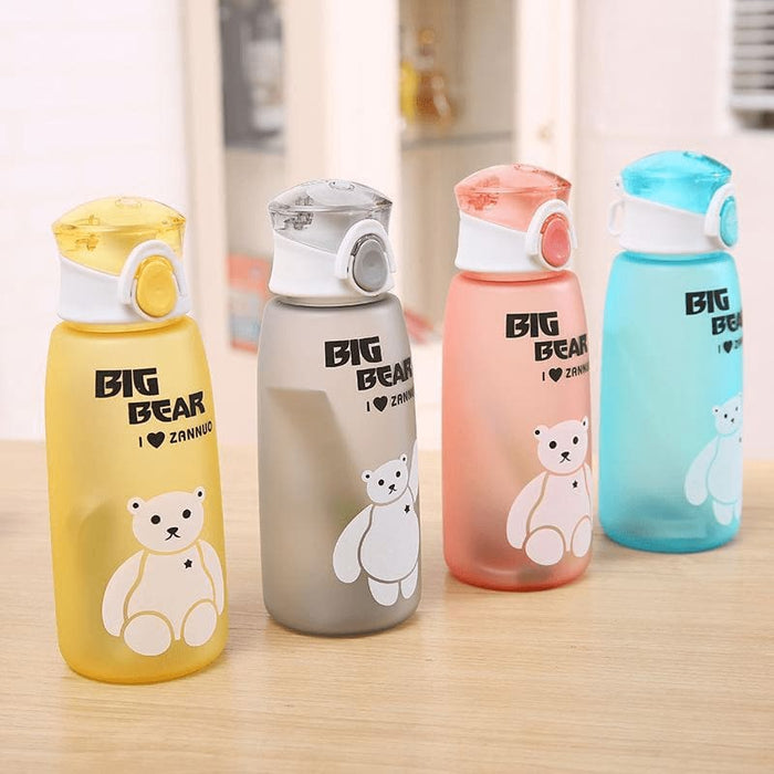 Cute bear water bottle