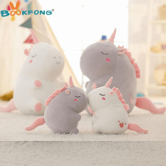 Cute Fat Unicorn Plush