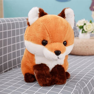 Cute Fox Plush - Brown