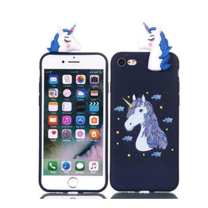 Cute Unicorn Phone Case - 8 / Iphone 5