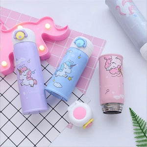 Cute Unicorn Water Bottle