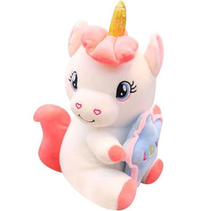 Holding Star Unicorn Plush - 35Cm / 1