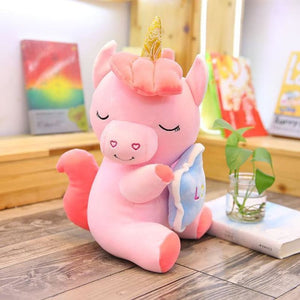 Holding Star Unicorn Plush - 35Cm / 2